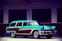 Mercury Monterey SW 1956.