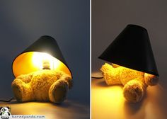 Cool to make one yourself.  20 Cool Modern Lamp Designs | Bored Panda