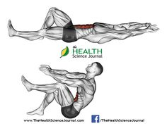 © Sasham | Dreamstime.com – Exercising for bodybuilding. Flexion of the trunk with the legs pulling
