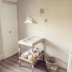 Baby Room, Kid Stuff, Diy Home Decor, Toddler Bed, Decoration, Furniture, Instagram, Changing Station, Pregnancy
