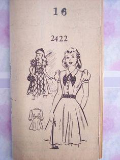 Chicago Tribune 2422: classic schoolgirl