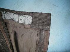 Couture waistband technique