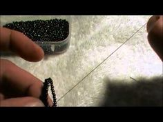 Video: Bead two rows of flat peyote at once - #Seed #Bead #Tutorials