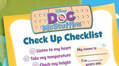Doc McStuffins Coloring Pages and Crafts | Disney Junior