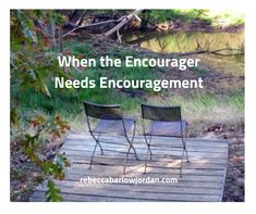 What do you do when you're the encourager, but you need some encouragement yourself? Here are three simple things you can do that might help you: Love The Lord, Gods Love, Work Related Stress, To Boast, Ecclesiastes, Postpartum Depression, Self Talk, God Loves Me, Energy Level