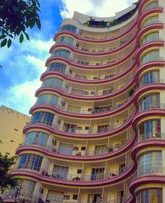 As belezas do Edifício Germanie Burchard by @solangesantos2016 #saopaulocity #edificiogermanieburchard