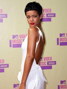 Hair and Makeup: Rihanna