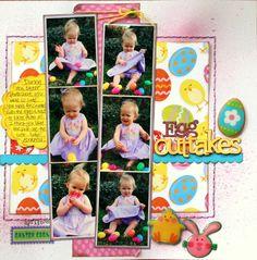 Egg Outtakes - Scrapbook.com