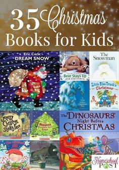 Have you read the books on our Christmas books for kids list? Here are 35 great choices, from classics to new favorites. Enjoy them together!: