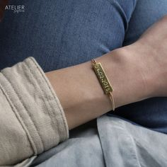 Save the Date Bracelet by ATELIER Gaby Marcos