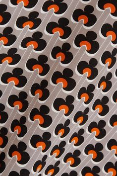 Marni - Cutout Printed Silk Crepe De Chine Turtleneck Top - Orange - IT44