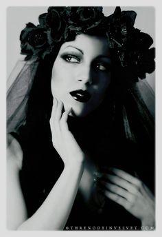 Black widow unveiled by ~ladymorgana on deviantART