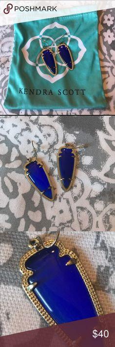 Kendra Scott Skylar Earrings Kendra Scott Skylar Earrings in blue. Kendra Scott Jewelry Earrings