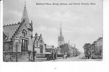 Bedford Place, Burgh School & Parish Church, Alloa, Clackmannanshire