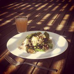 #outdoorliving #terracedining #lunch #vegetarian #littlefrenchretreat