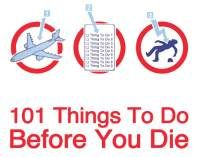 101 things to do before you die: great lesson idea