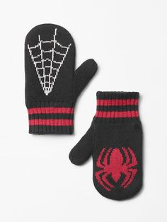 JunkFood&#153 superhero mittens