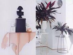 Ostrich console DIVA Pink.  #ibride #design #animal #furniture #interior #deco #console #livingroom #home #deco (photo Berko)