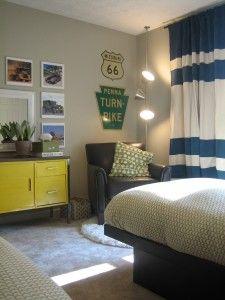 reading corner in boys bedroom