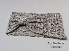 Swanky Glam Cowl - Free Crochet Pattern:  Written Instructions and Chart