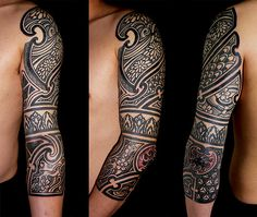 African Sleeve Tattoo Ideas Wwwpicturessocom