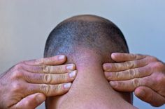 How to Stop Neck Muscle Spasms (with Pictures) Muscle Spasms In Neck, Neck Spasms, Stiff Neck Remedies, Neck Exercises, Stretches, Reflexology Massage, Mommy Workout, Neck Pain, Hip Pain