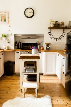 Ikea Kitchen With Rustic And Industrial Elements - Image By Richmond Pictures