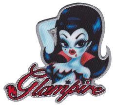 KREEPSVILLE 666 GLAMPIRE PATCH $8.00 #kreepsville #patch #vampire