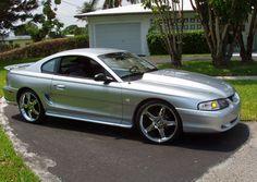 Silver SN95 Mustang