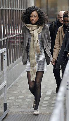 Девочки-припевочки: 15 советов, как сочетать колготки и платья | www.wmj.ru