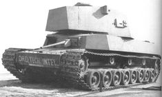tank prototypes that never saw service   This was the Horstmann that was mostly seen in WW2 and the 1930s, the ...