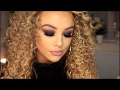 Black Smokey Eye Tutorial | Morphe 350 Palette Tutorial - YouTube