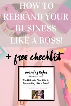 How to Successfully Rebrand Your Business — Are you looking to revamp your brand identity but you just don't know where to start? Click on this pin to get all of the business inspiration to start over, successfully!