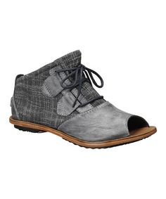 Take a look at this Coal Lake Peep-Toe Ankle Boot - Women by SOREL Women & Men on @zulily today!