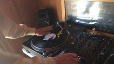 DJ スクラッチ練習