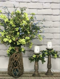 Item Height/Length Width Height of Candleholder Vase Large Candle Holder Small Candle Holder Tray Small Candle Holders, Small Candles, Faux Flower Arrangements, Faux Flowers, Artificial Flowers, Vase, Floral, Plants, Home Decor