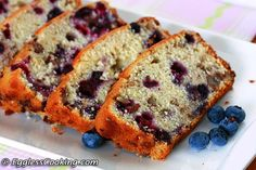 Can you believe that a light, moist and fluffy blueberry bread like this can be egg free? Do try it for yourself if you don't believe me.