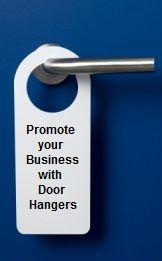 Promotional Door Hangers Get the most from your door hanger advertising