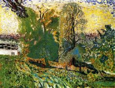 Intercepted by Gravitation | Normandy Landscape Pierre Bonnard - circa...