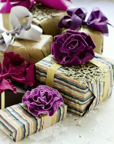 Wine, plum, eggplant and shades of burgundy for the holidays.  Call 800-828-BOWS to order girls hair bows, headbands, flowers.