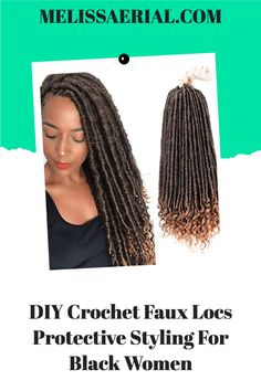 Diy crochet locs for hair as a protective style #locs #diyhair Try New Hairstyles, Faux Locs Hairstyles, Protective Hairstyles For Natural Hair, Cool Braid Hairstyles, African Braids Hairstyles, Long Natural Hair, Natural Hair Updo, Natural Hair Styles, Long Hair Styles