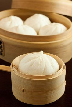 steamed chicken buns, dim sum style.