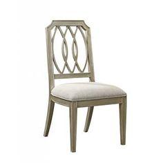 Bassett Mirror DSCH92-820EC Vanesta Side Chair