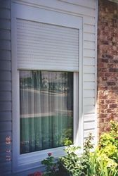 Built-in security shutters..... pretty neat.