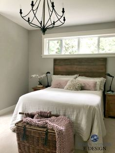 The 9 Best Benjamin Moore Paint Colours for a North Facing / Northern Exposure Room Revere Pewter Bedroom, Grey Bedroom Paint, Best Bedroom Paint Colors, Revere Pewter Benjamin Moore, Benjamin Moore Paint, Benjamin Moore Colors, Paint Colors For Home, House Colors, Paint Colours For Bedrooms