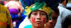 No Dia do Índio, aldeia no Paraná luta pela manutenção de terras (Daniel Jaeger Vendruscolo / Arquivo pessoal)