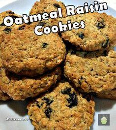 Oatmeal raisins, Oatmeal raisin cookies and Raisin cookies on ...