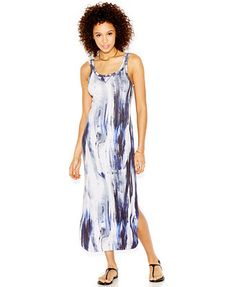 RACHEL Rachel Roy Dye-Effect Maxi Dress