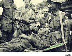 Çanakkale Savaşları 1915 Yaralanmış Türk askerini Anzak revirine getiren sıhıyeciler