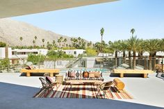 Ace Hotel & Swim Club is a Wedding Venue in Palm Springs, California, United States. See photos and contact Ace Hotel & Swim Club for a tour. Best Hotels Palm Springs, Palm Springs Houses, Ace Hotel, Hotel Motel, Best Boutique Hotels, A Boutique, Sofitel Hotel, California, Patio